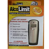 Alcolimit Digital Alcohol Breath Tester Breathalyser ALCO001