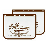 RM Williams Heavy Duty Mud Flaps Truck Size One Pair MDRMT