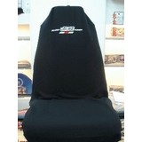 AXS Car Seat Cover Mugen Slip On Throw Over Single Black