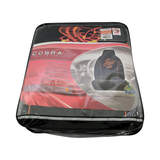 Cobra Seat Covers Front High Back Pair Black Size 60
