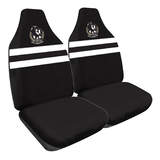 AFL Seat Covers Collingwood Size 60 Front Pair