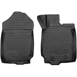 3D Rubber Floor Mats Ford Ranger Single/Xtra Cab 2011-On 2 Piece EXP.NLC.3D.16.65.210k
