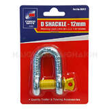 Towing Accessories: D Shackle 12mm DSR12