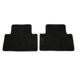 Grey - Tailor Made Floor Mats Volvo V50 2004-2010 Custom Fit Rear Pair
