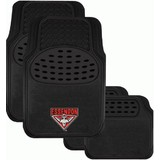 AFL Floormats Essendon Bombers Set Of 4