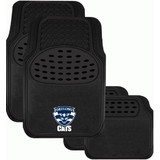 AFL Car Floor Mats Geelong Cats Set Of 4