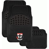 AFL Car Floor Mats St Kilda Saints Set Of 4