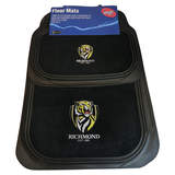 AFL Floormats Richmond Tigers Set Of 4