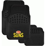 AFL Floormats Gold Coast Suns Set Of 4