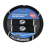 AFL Collingwood Magpies Steering Wheel Cover