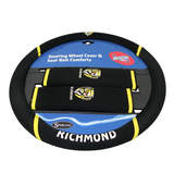 AFL Richmond Tigers Steering Wheel Cover
