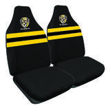 AFL Seat Covers Richmond Tigers Size 60 Front Pair