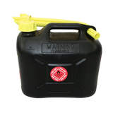 Fuel Safe' Heavy Duty Plastic Fuel Can 5 Litre  Black FC05B