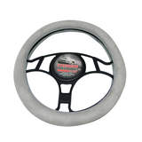 4x4 Suede Steering Wheel Cover Grey SWC40G