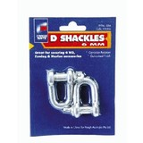 Towing Accessories : D Shackle 6mm Pair DS6