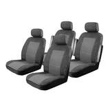 Seat Covers Ssangyong Stavic Wagon 2013-On 2 Rows Custom Made Esteem Velour Charcoal Tray Table