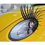 Car Eyelashes For Headlights Stick On Eye Lash Decoration