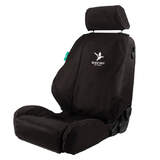 Black Duck 4Elements Console & Seat Covers Mazda BT-50 MY21 Dual Cab 8/2020-On Black