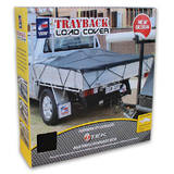 Trayback Heavy Duty Load Cover Dual Cab Light Truck Cargo Mesh 2.8 x 3.7M CGN13