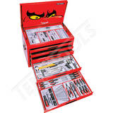 Teng Tools - 204 Piece Metric Tool Kit