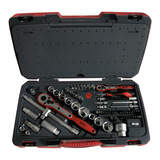 Teng Tools - 111Pc 1/4 & 3/8 & 1/2 Dr Tool Set TM111