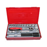 Teng Tools 19 Piece 3/8 inch Drive Metric Socket Set TT3819