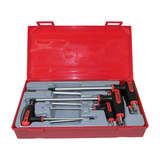 Teng Tools - 7 Piece Hex T-Handle T Handle Set 2.5-8mm TC-Tray TTHEX7