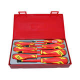 Teng Tools 7 Piece Screwdriver Set 1000 Volt Insulated TTV907N