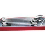 Teng Tools - 7 Piece Metric Spanner Set TC-Tray TTX2032
