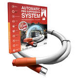 Blazecut T Automatic Fire Suppression System For Cars, Caravans, Boats, Switchboards TV400FA  4 Metre